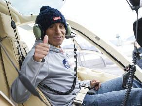 Remigio Huamán Quispe el deportista peruano que recorrerá el mundo
