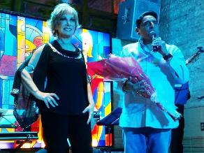 Carlos Álvarez celebró cumpleaños por todo lo alto