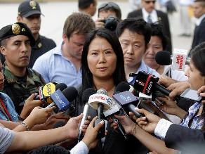 Keiko Fujimori dice que su padre fue condenado sin pruebas