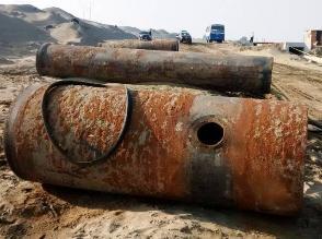 Este es el estado de las tuberías que abastecen de agua a Trujillo