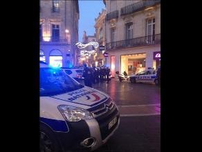 Alerta por toma de dos rehenes en una joyería de Montpellier