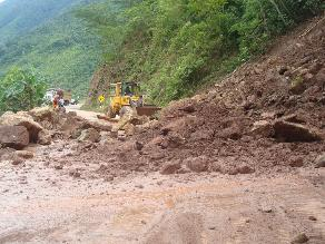 Junín: Selva Central soportó 10 horas de lluvia y huaicos