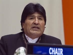 Evo Morales cede Presidencia del G77 a Sudáfrica