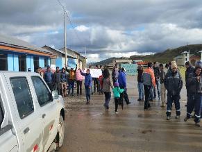 #Rotafono: un herido deja paralización de obras en penal de Pasco