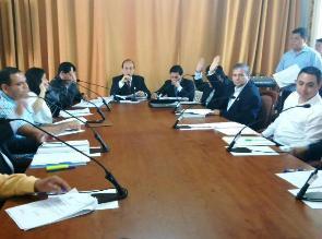 La Libertad: Concejo Regional elige a miembros de comisiones de trabajo