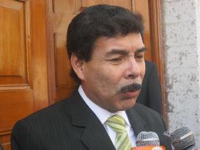 Alfredo Zegarra juramentó al cargo de alcalde provincial de Arequipa