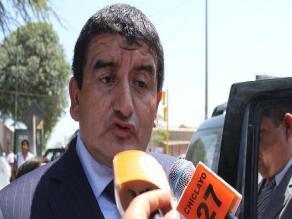 Lambayeque: Acuña espera pronunciamiento de Asesoría Jurídica por caso Orellana
