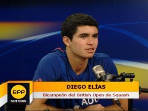 Diego Elías: Mi meta del 2015 es acabar entre los 20 primeros