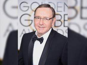 Globos de Oro: Kevin Spacey, el mejor actor de drama para TV