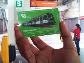 MTC: Tarifas de Línea 1 del Metro no subirían por el momento