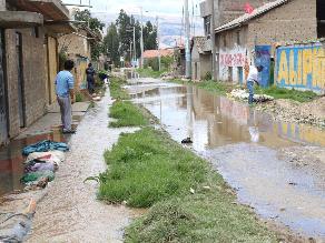 Ayacucho: más de 100 personas afectadas por fuertes lluvias