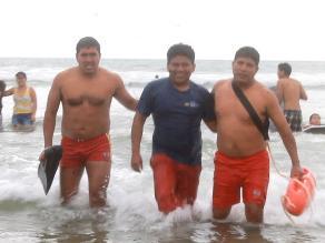 Nuevo Chimbote: playa Atahualpa con bandera roja por prevención