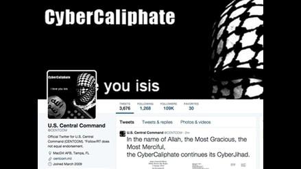 El Estado Islámico hackea la cuenta de Twitter del Mando Central del Pentágono
