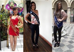 Cajamarca: conozca a las primeras candidatas al cetro Carnaval 2015