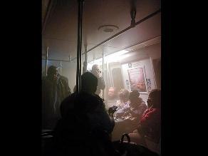 EEUU: Un muerto tras llenarse de humo túnel del metro de Washington