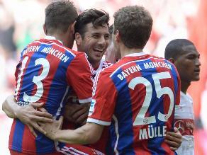 Claudio Pizarro se reencontró con el gol en amistoso del Bayern Munich