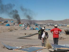 Arequipa: más de 800 invasores fueron desalojados en Majes