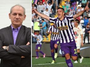 Alianza Lima: Álamo Pérez Luna le dedica tema