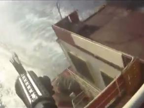 Video testifica enfrentamiento a muerte entre guardias de barco y piratas