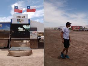 Dakar 2015: Conoce Calama, el campamento más hostil del Rally