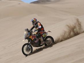 Dakar 2015: Coma domina en motos tras novena etapa que ganó Rodrigues