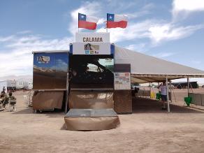 Dakar 2015: Calama recibió competencia con clima totalmente hostil