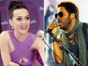 Lenny Kravitz se une a Katy Perry en el show del Super Bowl