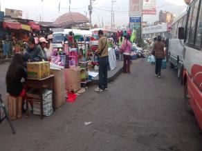 Arequipa: realizan censo de comerciantes en plataforma Avelino Cáceres
