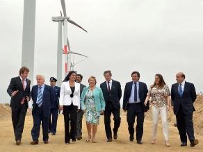 Chile: Michelle Bachelet inauguró parque eólico