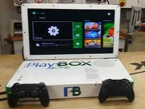 YouTube: Playbox, invento que junta PS4 y Xbox One en una sola consola
