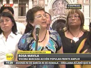 Ley Jóvenes: Grupo de mujeres expresó apoyo a derogatoria