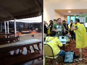 Dakar 2015: Mira las imágenes del diluvio que paralizó el campamento en Salta
