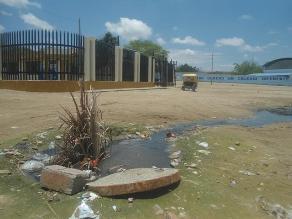 Piura: obra de agua y alcantarillado está abandonada en Sullana
