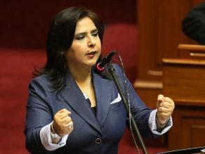 Ana Jara niega directivas del Gobierno para espionaje a la oposición