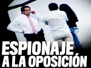 Denuncian seguimiento a políticos de oposición por parte del Gobierno