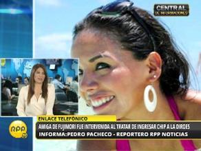 Alberto Fujimori: simpatizante trató de ingresar chip a su celda
