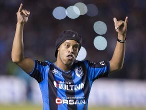Querétaro, sin Ronaldinho, derrotó por 1-0 a los Leones Negros
