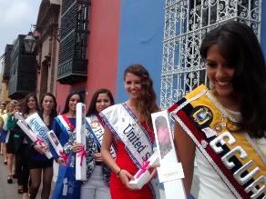 Candidatas a reina del Carnaval de Cajamarca se preparan para concurso