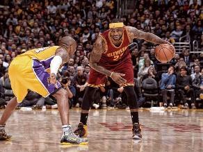 NBA: LeBron James supera a Kobe Bryant y los Cavaliers vuelven al triunfo