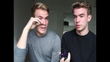 YouTube: gemelos confiesan que son gays a su padre por teléfono