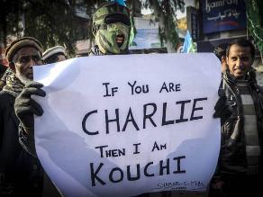 Charlie Hebdo: paquistaníes protestan contra caricatura de Mahoma