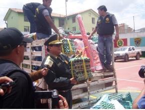 Cusco  decomisan contrabando valorizado en S .20 mil soles d75b577c5e263