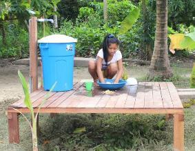 Agua y saneamiento para niños y niñas de la Amazonía