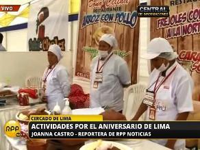 Festejos por Lima ya se viven en la alameda Chabuca Granda