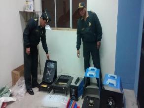 Juliaca: incautan 72 kilos de cocaína camufladas en máquinas de soldar