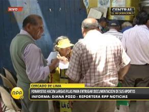 Chiclayo: fonavistas cobraron sin problemas en Banco de la Nación