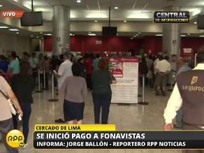 Fonavi: dos fonavistas se desmayan de tanto esperar en Banco de la Nación