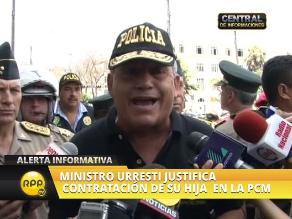 Ley Jóvenes: Urresti negó presencia de policías de civil en marcha