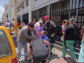 Ica: Escuadrón de Emergencia supervisa entrega de dinero a fonavistas