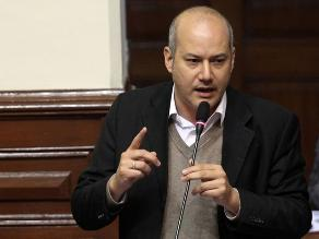 Sergio Tejada se mostró a favor de derogar la ley laboral juvenil